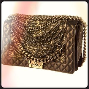 Chanel Medium Enchained Boy Bag